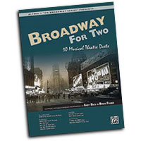 Andy Beck and Brian Fisher : Broadway for Two : Duet : Songbook & CD :  : 038081263205  : 00-27113