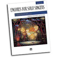 Jay Althouse : Encores for Solo Singers - High : Solo : Songbook & CD : 038081212227  : 00-21831
