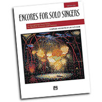 Jay Althouse : Encores for Solo Singers - Low : Solo : Songbook & CD : 038081212258  : 00-21834