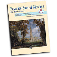 Patrick M. Liebergen : Favorite Sacred Classics for Solo Singers - Low  : Solo : Songbook & CD :  : 038081113562  : 00-11512
