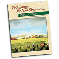 Jay Althouse : Folk Songs for Solo Singers, Vol. 1 - High : Solo : Songbook & CD : 038081212296  : 00-21838