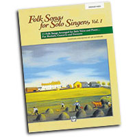 Jay Althouse : Folk Songs for Solo Singers, Vol. 1 - Medium High : Solo : Songbook & CD :  : 038081147314  : 00-16632