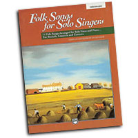 Jay Althouse : Folk Songs for Solo Singers, Vol. 1 - Medium Low : Solo : Songbook & CD : 038081147338  : 00-16634