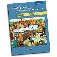 Jay Althouse : Folk Songs for Solo Singers, Vol. 2 - Medium Low : Solo : Songbook & CD :  : 038081136523  : 00-16305