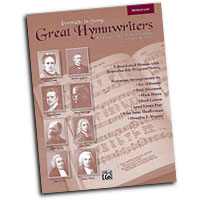 Various Arrangers : Great Hymnwriters (Portraits in Song) - Medium Low : Solo : Songbook :  : 038081281063  : 00-25861