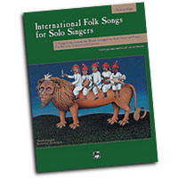 Jay Althouse : International Folk Songs for Solo Singers - Medium High : Solo : 01 Songbook & 1 CD : 038081151021  : 00-16963