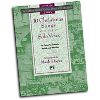 Mark Hayes : The Mark Hayes Vocal Solo Collection: 10 Christmas Songs for Solo Voice : Solo : Songbook & CD :  : 038081170893  : 00-18921