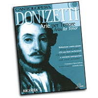 Donizetti : Cantolopera - Arias for Tenor : Solo : Songbook & CD :  : 884088137175 : 50486420