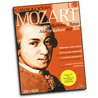 Wolfgang Amadeus Mozart : Cantolopera - Arias for Baritone and Bass : Solo : Songbook & CD : Wolfgang Amadeus Mozart : 884088103842 : 50486350