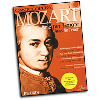 Wolfgang Amadeus Mozart : Cantolopera - Arias for Tenor : Solo : Songbook & CD : Wolfgang Amadeus Mozart : 884088103880 : 50486349
