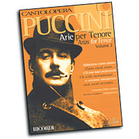 Giacomo Puccini : Cantolopera - Arias for Tenor Vol. 2 : Solo : Songbook & CD : 884088252380 : 50486759