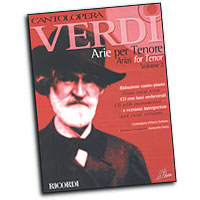 Giuseppe Verdi : Cantolopera - Arias for Tenor Vol. 2 : Solo : Songbook & CD : 884088252731 : 50486757