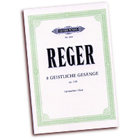 Max Reger : Sacred Songs for Mixed Voices : SATB : 01 Songbook : EP3984