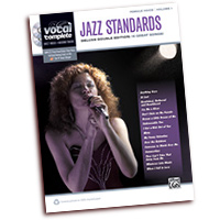 Vocal Complete : Female Voice Jazz Standards : Solo : Songbook & 2 CDs : 038081416991  : 00-37291