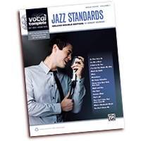Vocal Complete : Male Voice Jazz Standards : Solo : Songbook & 2 CDs : 038081417004  : 00-37295