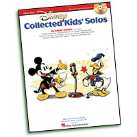 Various : Disney Collected Kids' Solos : Solo : Songbook & CD : 884088538361 : 1617741051 : 00230066