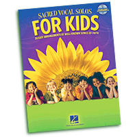 Various : Sacred Vocal Solos for Kids : Solo : Songbook & CD : 884088863098 : 1476875650 : 00110424