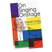 David Craig : On Singing Onstage : 01 Book :  : 073999140026 : 1557830436 : 00314002