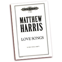 Matthew Harris : Love Songs : TTBB : 01 Songbook : P68082