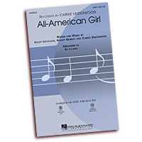 Carrie Underwood : Songs for Treble Voices : SSA. : Sheet Music