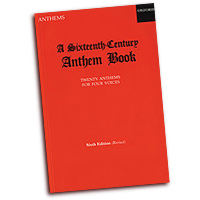 Christopher Morris : A Sixteenth-Century Anthem Book : SATB : 01 Songbook : 9780193534070 : 9780193534070