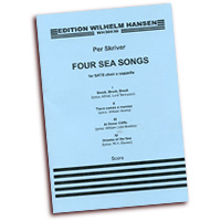 Per Skriver : Four Sea Songs : SATB : 01 Songbook : 14042403