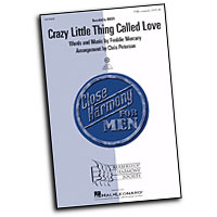 "Close Harmony For Men : <span style=""color:red;"">Crazy Little Thing Called Love</span> - 4 Charts and Parts CD : TTBB : Sheet Music & Parts CD : 884088364878 : 08750082"