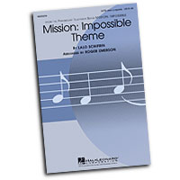 Various Arrangers : A Cappella Movie Themes : Mixed 5-8 Parts : Sheet Music