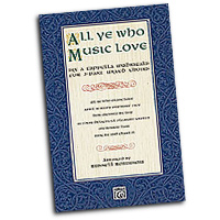Russell Robinson : All Ye Who Music Love : 3 Parts : 01 Songbook : Russell L. Robinson :  : 00-28883