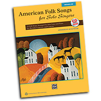 Jay Althouse : American Folk Songs for Solo Singers : Solo : Songbook & CD : 038081397634  : 00-35567