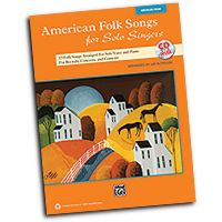 Jay Althouse : American Folk Songs for Solo Singers : Solo : Songbook & CD : 038081397603  : 00-35564