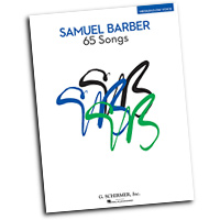 Samuel Barber : 65 Songs : Solo : Songbook : Samuel Barber : 884088478438 : 1423491270 : 50490045