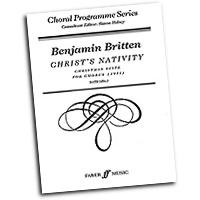 Benjamin Britten : Christ's Nativity : SATB : 01 Songbook : Benjamin Britten : 9780571515134 : 12-0571515134