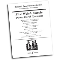 Simon Halsey : Five Welsh Carols : SATB : 01 Songbook :               : 12-0571519253