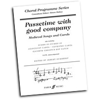 Jeremy Summerly : Passetime with Good Company : SATB : 01 Songbook : Jeremy Summerly : 9780571520336 : 12-0571520332