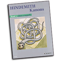 Paul Hindemith : Kanons : SATB : 01 Songbook : Paul Hindemith : 884088255756 : 49032915