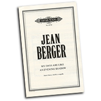 Jean Berger : A Cappella Works : SATB : Sheet Music