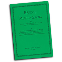 Lajos Bardos : Musica Sacra Vol 1 : SSA. Treble : 01 Songbook : 50511016