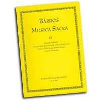 Lajos Bardos : Musica Sacra Vol 3 : SSA. Treble : 01 Songbook : 50485339