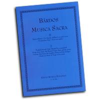 Lajos Bardos : Musica Sacra Vol 2 : SSA. Treble : 01 Songbook : Lajos Bardos : 50486170
