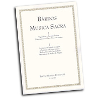 Lajos Bardos : Music for Christmas and Easter : SATB : 01 Songbook : Lajos Bardos : 073999198522 : 50511024