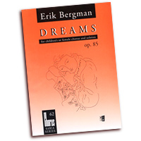 Erik Bergman : Dreams : SSAA : 01 Songbook : Erik Bergman : 073999931044 : 48000590