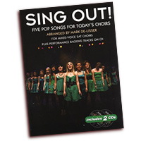 Mark De-Lisser : Sing Out! 5 Pop Songs For Today's Choirs - Book 1 : SAT : 01 Songbook & 2 CDs :  : 9781785580321 : 14041401