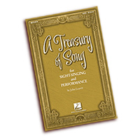 John Leavitt : A Treasury of Song for Sight-Singing and Performance : SATB : 01 Songbook : 884088494957 : 08751678
