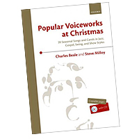 Charlie Beale and Steve Milloy : Popular Voiceworks at Christmas : 01 Songbook & 1 CD : 9780193522671