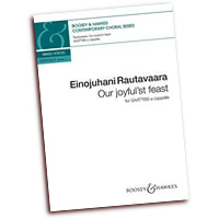 Einojuhani Rautavaara : Our Joyful'st Feast  : SAATTBB : 01 Songbook : 888680033132 : 0851627994 : 48022653