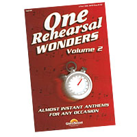 Various : One Rehearsal Wonders - Volume 2 : SATB : 01 Songbook :  : 747510183549 : 1592351832 : 35016271
