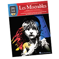 Alain Boublil and Claude-Michel Schonberg : Sing With The Choir - Les Miserables : Solo : Songbook & CD :  : 884088245573 : 1423440374 : 00333009