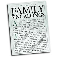 Various Arrangers : The Library of Family Singalongs : Unison : 01 Songbook :  : 752187986591 : 0825634989 : 14019035