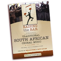 Mollie Stone & Patty Cuyler : Traditional Choral Music From South Africa Vol 1 : SATB : 01 Songbook & 1 DVD